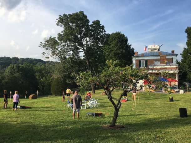 Church Hill Orchard and outdoor event
